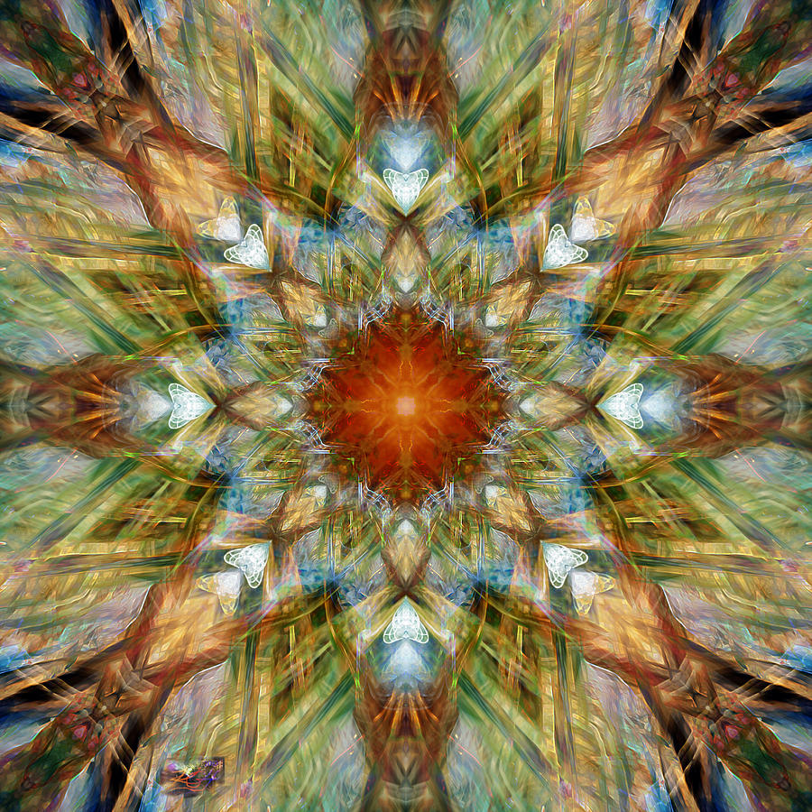 Topology Digital Art - Knots Xvi by Kenneth Hadlock