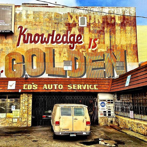 Knowledge Is Golden Photograph by Julie Gebhardt