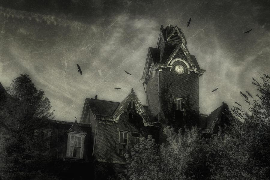 Abandoned Photograph - Knox County Poorhouse by Tom Mc Nemar