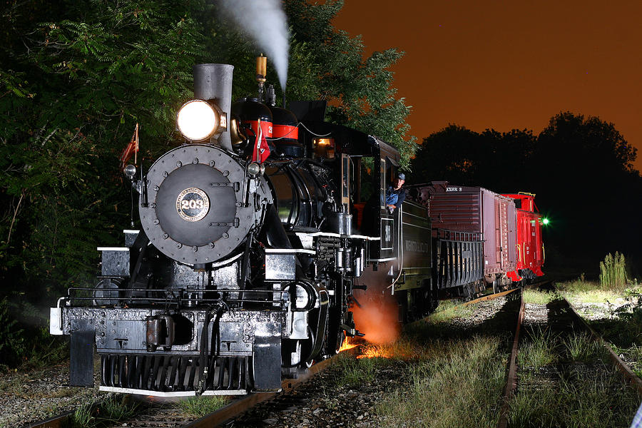 Steam Engine Photograph - Knoxville Steam by Joseph C Hinson Photography