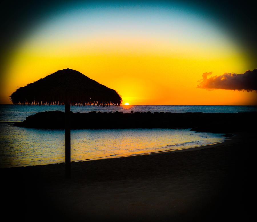 Ko Olina Sunset Photograph - Ko Olina Sunset by Lisa Cortez