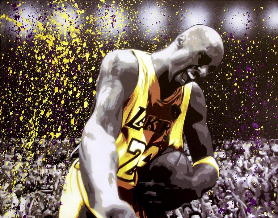 Kobe Painting - Kobe by Bobby Zeik