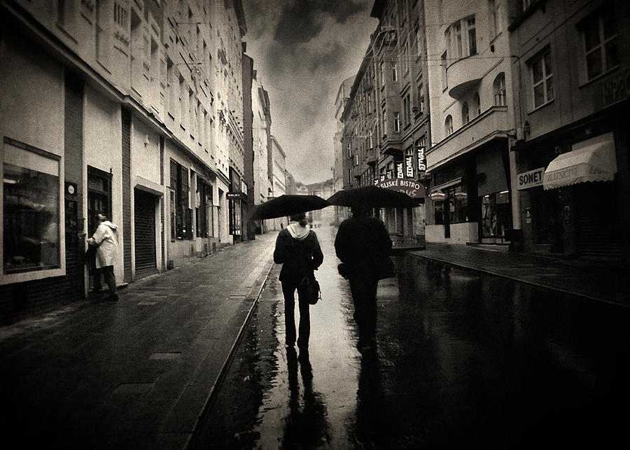 Rain Photograph Photograph - Koblizna by Taylan Apukovska