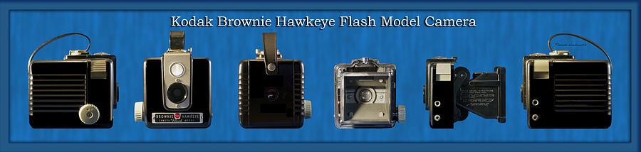 Kodak Photograph - Kodak Brownie Hawkeye Camera by Thomas Woolworth