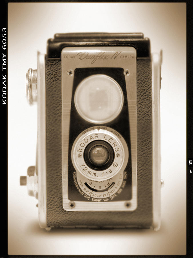 Vintage Camera Photograph - Kodak Duaflex Iv Camera by Mike McGlothlen