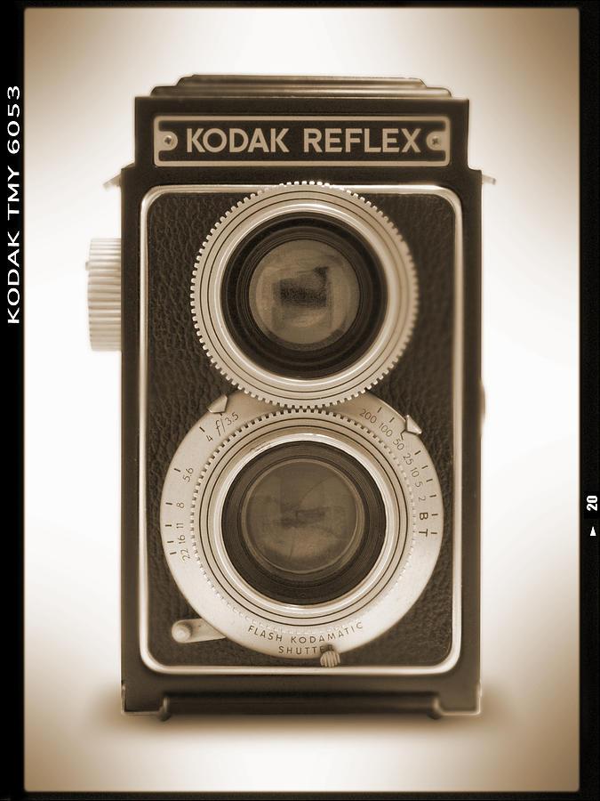 Vintage Camera Photograph - Kodak Reflex Camera by Mike McGlothlen