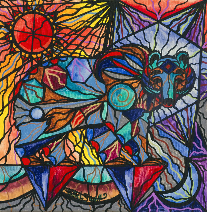 Kodiak Bear Painting - Kodiak Bear by Teal Eye  Print Store