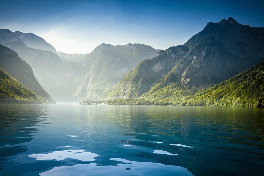 Europe Photograph - Koenigssee in Bavaria by Bjoern Kindler