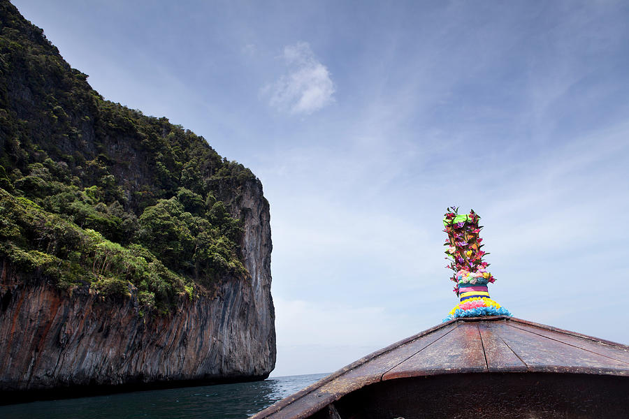 Koh Phi Phi Boat Photograph by Marcaux