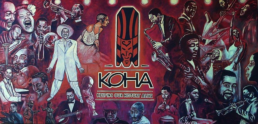 Koha mural in eatonville florida photograph by george pedro for African american mural