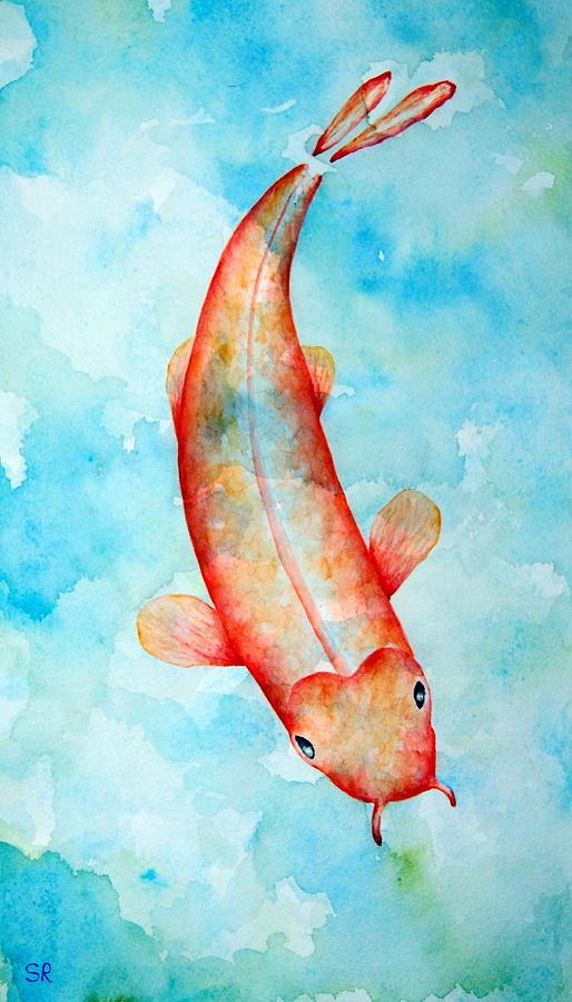 Koi Painting - Koi by Sarah Rosedahl