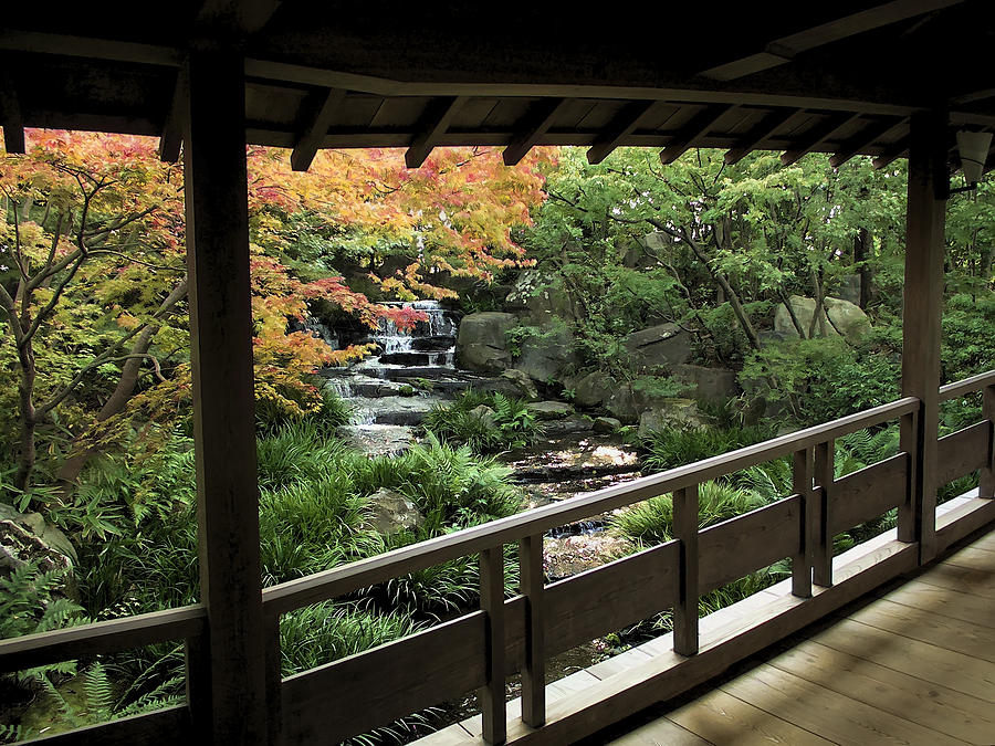 Japan Photograph - Kokoen Garden - Himeji City Japan by Daniel Hagerman