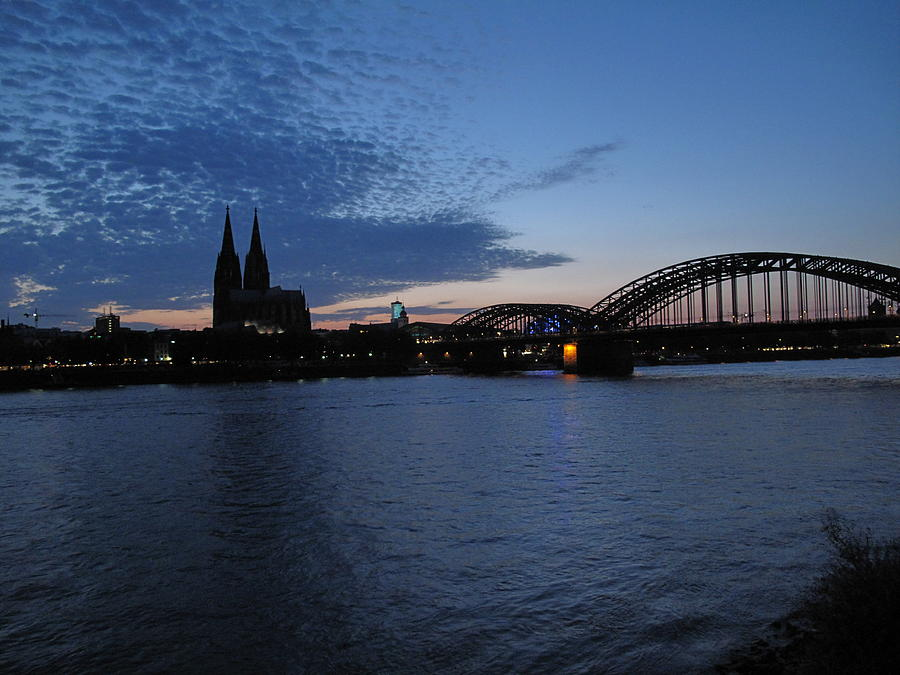 Germany Photograph - Koln Rhine by David  Hawkins