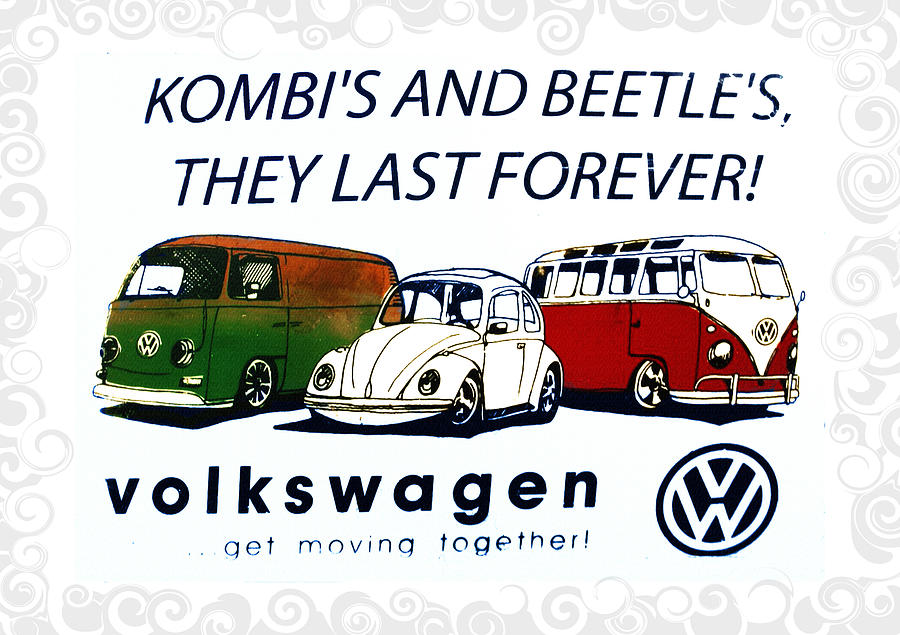 Beetles Photograph - Kombis And Beetles Last Forever by Bill Cannon
