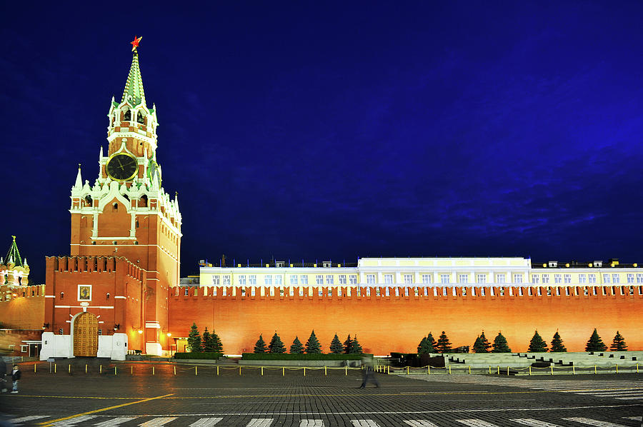 Kremlin Photograph by Loveguli