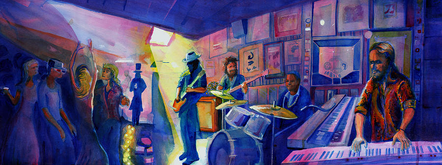 Kris Lager Band at Sanchos Broken Arrow by David Sockrider