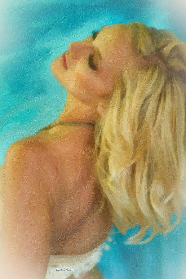 Kristin Painting - Kristin by Angela A Stanton