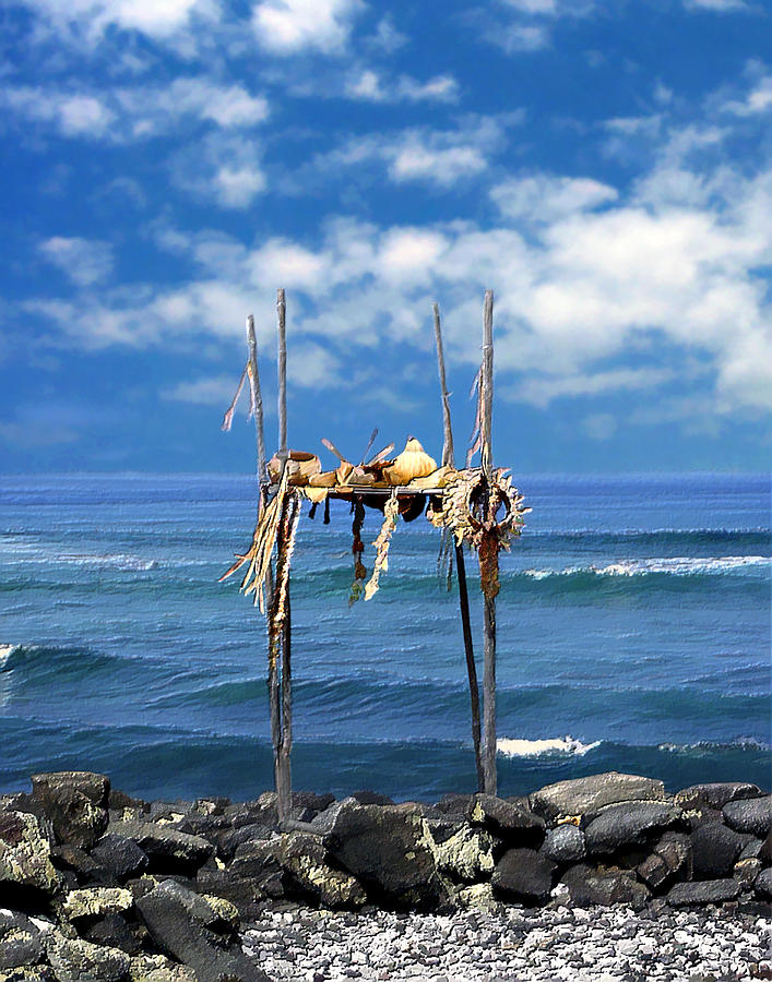 Hawaii Photograph - Ku Emanu Heiau Kona by Kurt Van Wagner