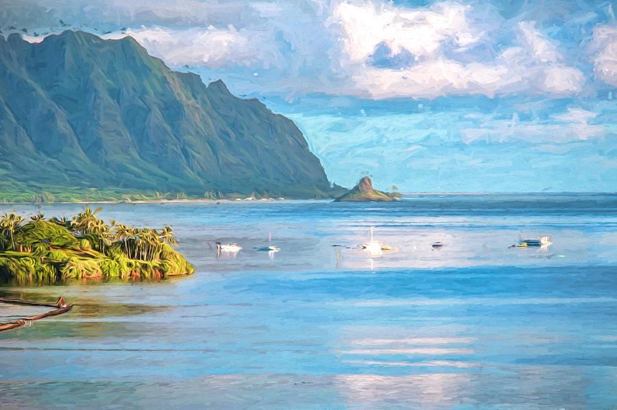 Hawaii Photograph - Kualoa Van Gogh by Dan McManus