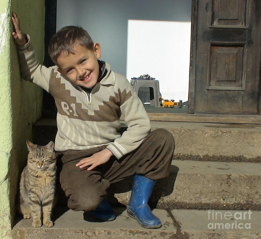 Kujtim Shabani  With Guliver Photograph by Arif-zenun  shabani