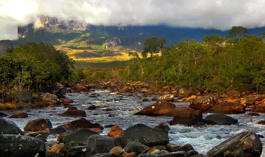 Kukenan from the river by Bibi Rojas