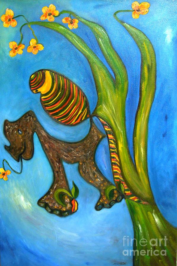 Kula And Pani's Ghost Painting - Kula And Panis Ghost by Mukta Gupta