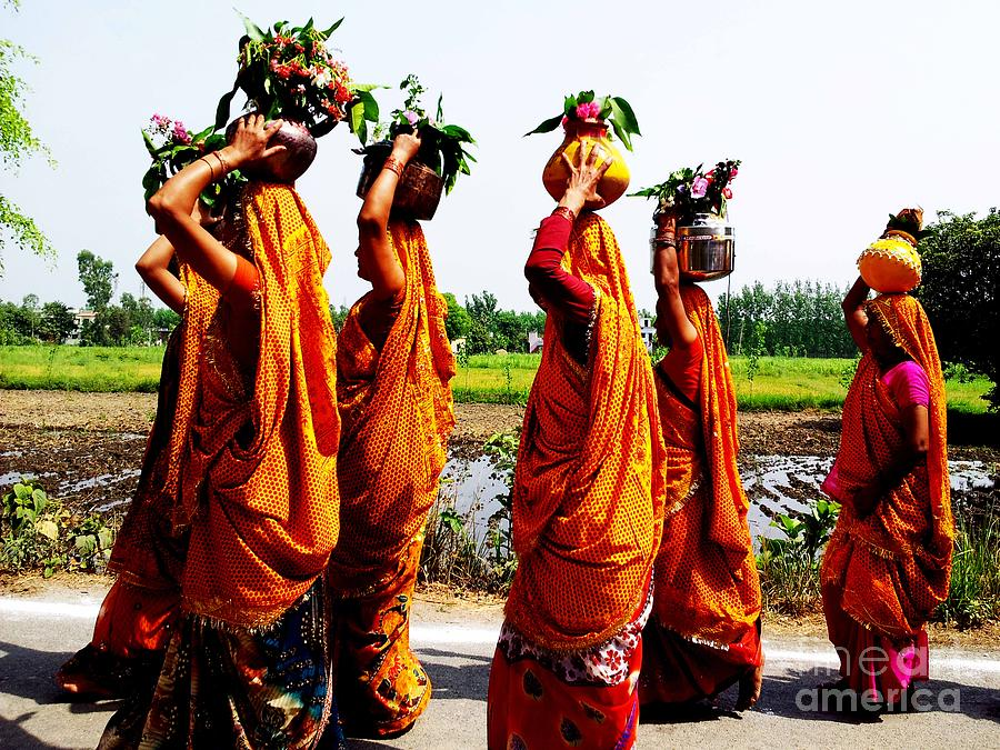 Kumaon Photograph - Kumaoni Ladies by Ankeeta Bansal