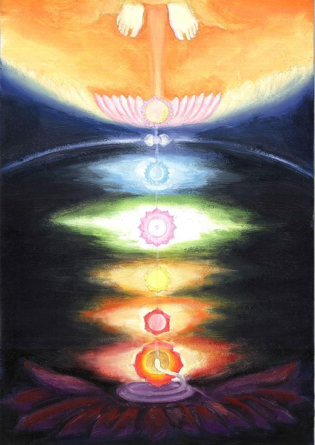 Kundalini Painting - Kundalini Awakening by Shiva Vangara
