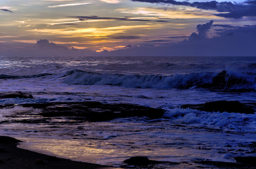 Kure Beach Summer Sunrise by Jennifer Stockman