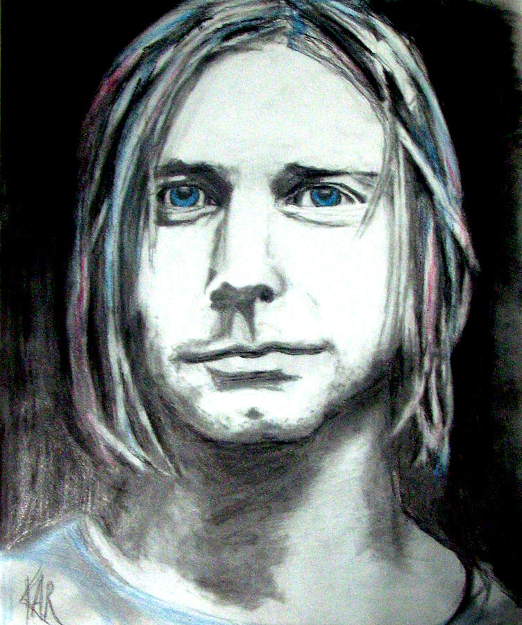 Kurt Cobain by Art by Kar