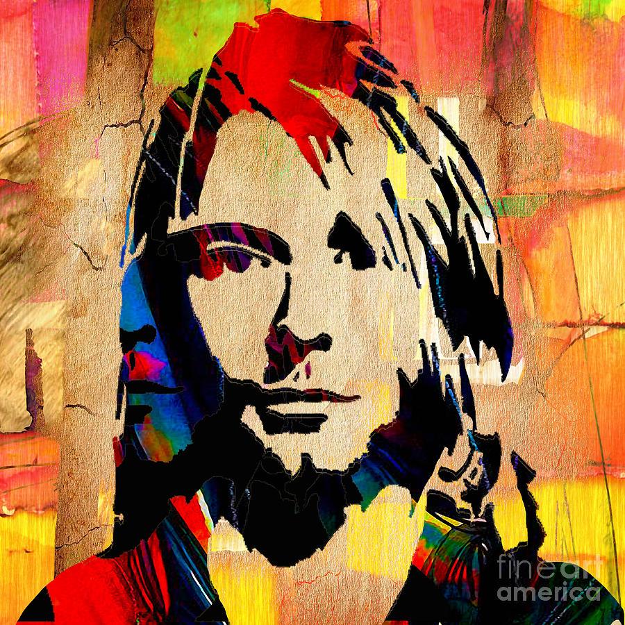 Kurt Cobain Nirvana Photograph by Marvin Blaine