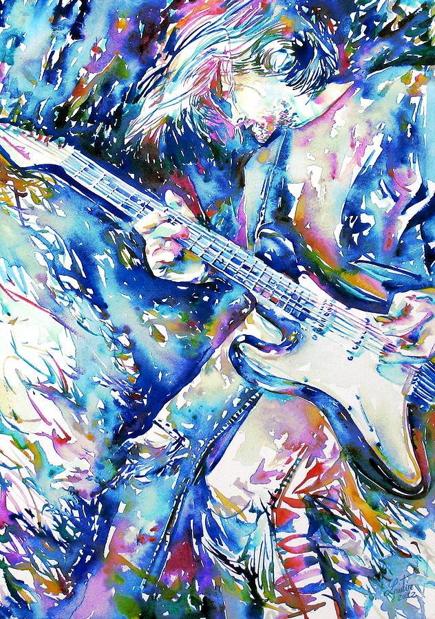Kurt Painting - Kurt Cobain Portrait.3 by Fabrizio Cassetta