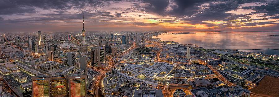 Kuwait Photograph - Kuwait City by Ahmad Al Saffar