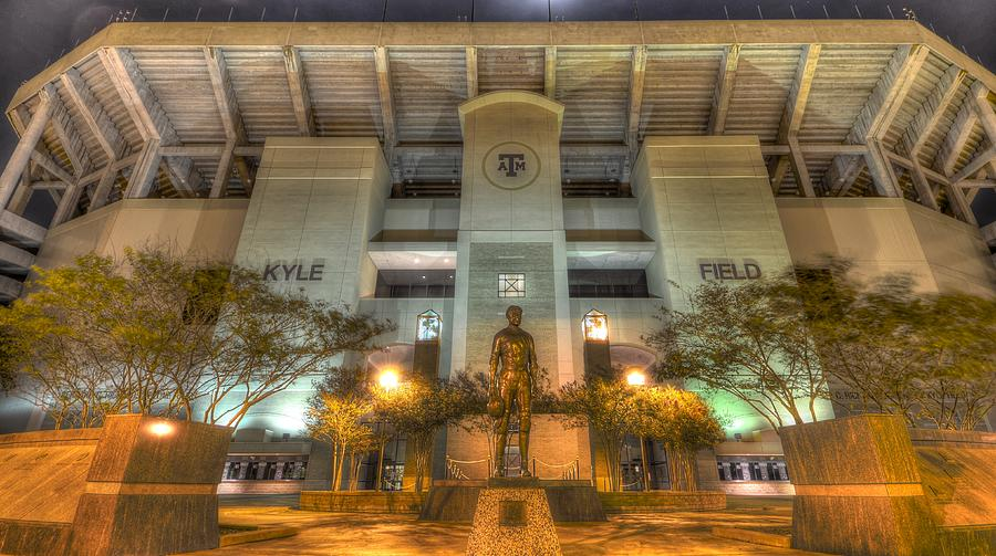 12th Man Photograph - Kyle Field by David Morefield