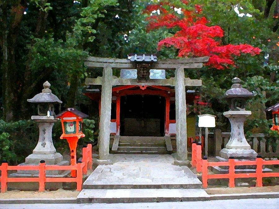 Japan Photograph - Kyoto Untitled 4 by Shawn Lyte