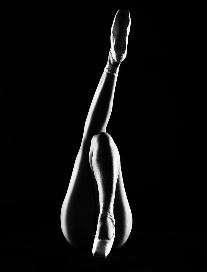 Model Photograph - La Ballerina - Orchida?e by Jackson Carvalho