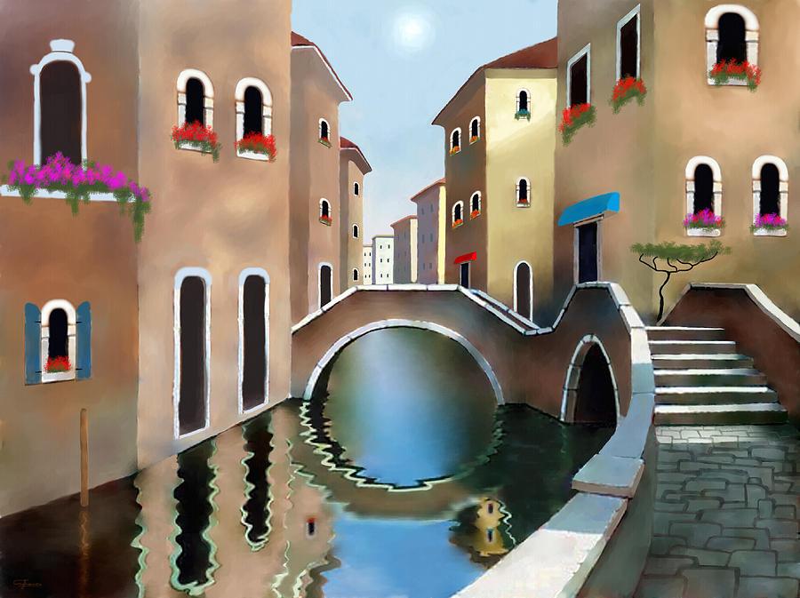 La Bella Vita Painting - La Bella Vita by Larry Cirigliano