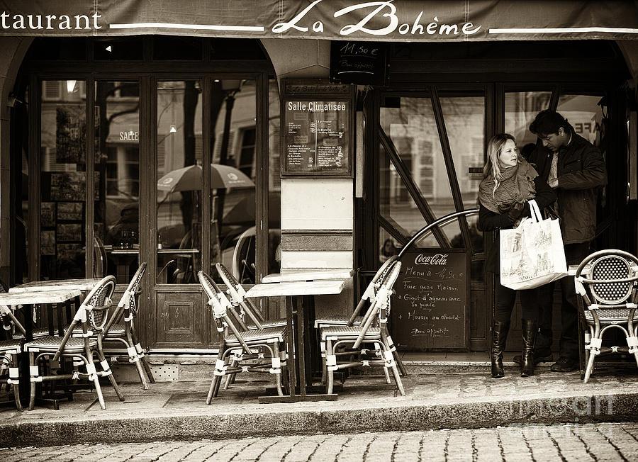 La Boheme Photograph - La Boheme by John Rizzuto