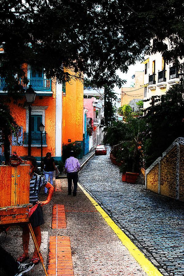 Street Photograph - La Calle by Simone Hester