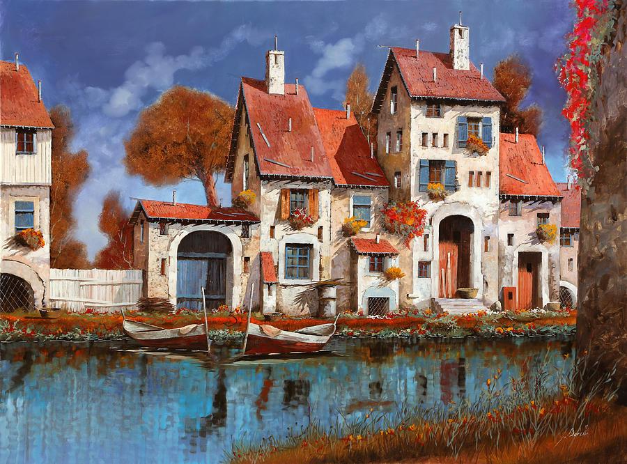 La Cascina Sul Lago Painting