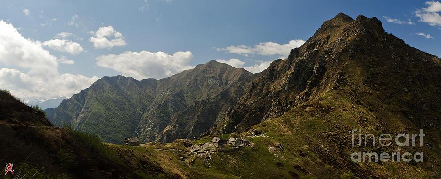 Alpi Photograph - La Colma by Marco Affini