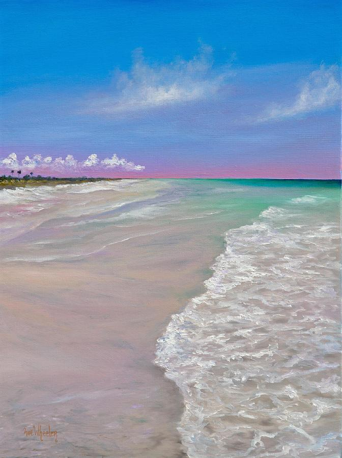 Cayo Costa  Painting - La Costa by Eve  Wheeler