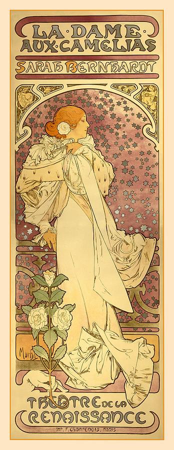 Antique Digital Art - La Dame by Gary Grayson