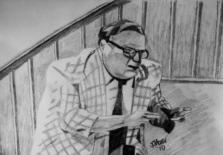 La Dee Frickin Da Drawing by Jeremy Moore