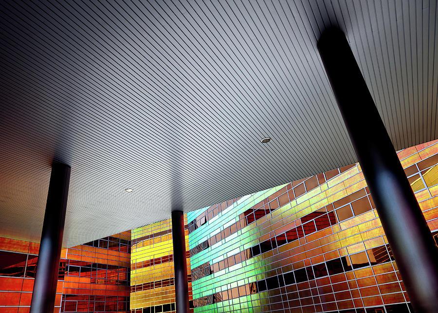 Architecture Photograph - La Defense by Dave Bowman