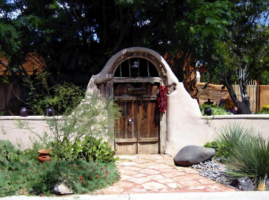 Doors Photograph - La Entrada A La Casa Vieja De Mesilla by Kurt Van Wagner