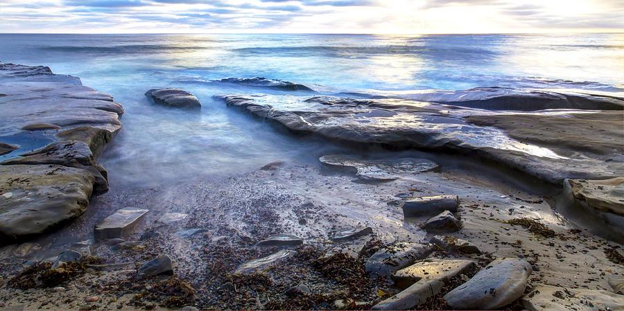 La Jolla Blue Water by Dusty Wynne