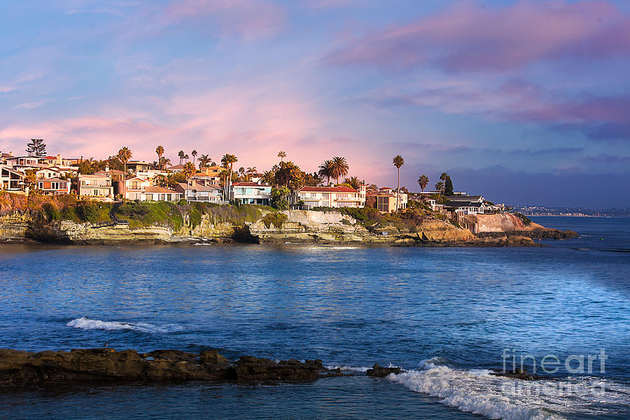 La Jolla California USA Beach by Gunter Nezhoda