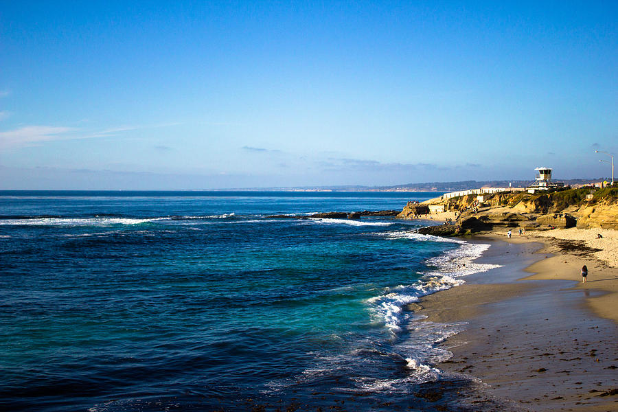 Pacific Photograph - La Jolla Cove by Marc Bottiglieri