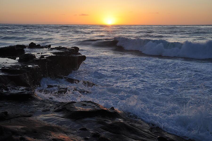 La Jolla Cove Sunset Photograph By John Hoffman